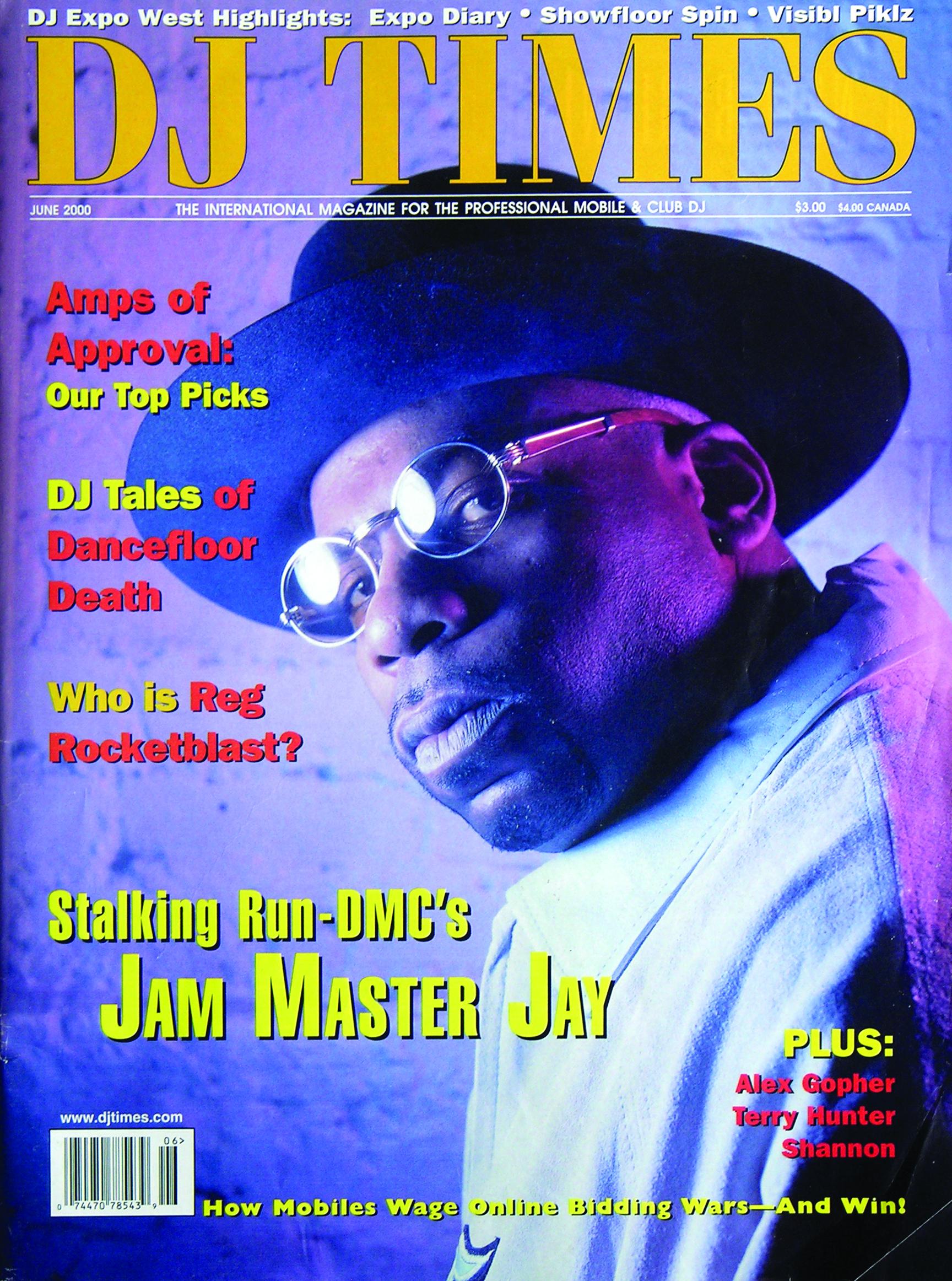 Jam Master Jay June 2000