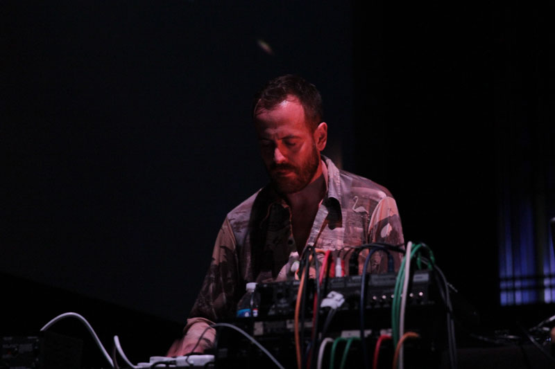 Ambient: Ulrich Schnauss at Wortham Theatre. © CurveTheory