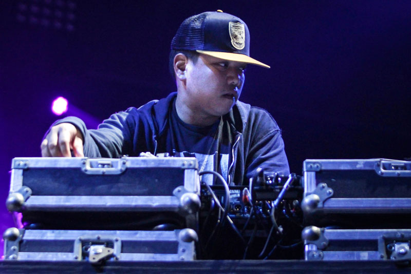 Supergroup DJ: Deltron 3030's Kid Koala.  © Criss Images