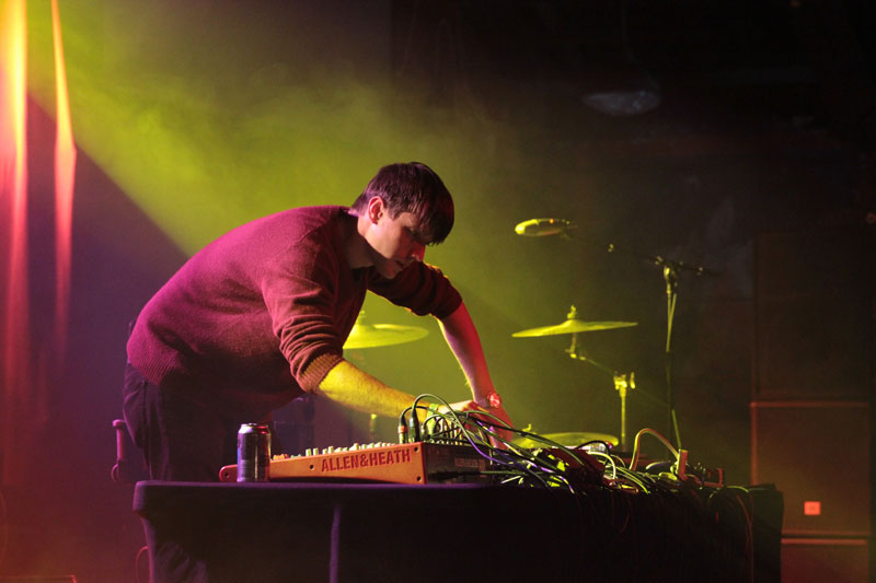 In the Mix: Robert DeLong at Orange Peel. © Reggie Tidwell