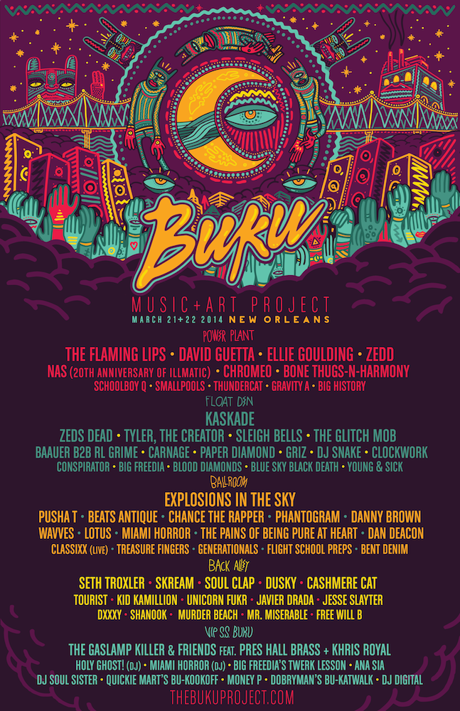 TICKET GIVEAWAY: 2 Passes to BUKU Music + Art Project