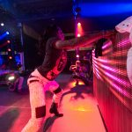 Big Freedia drops it low in the Float Den