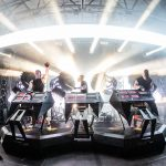 Boreta, edIT and Ooah of The Glitch Mob take Float Den revelers on a pulsing journey