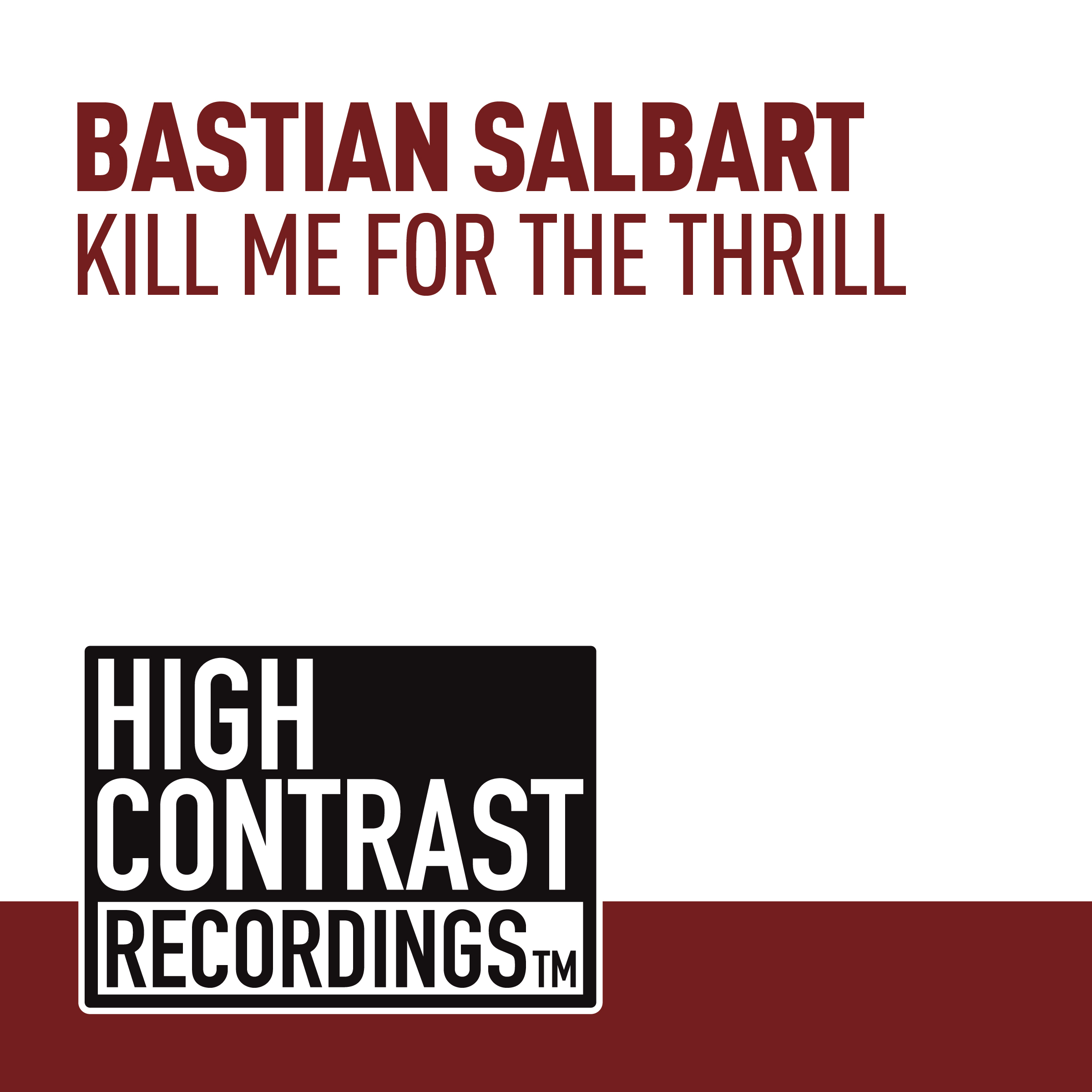 HCR256_Bastian Salbart - Kill Me For The Thrill 2400x2400