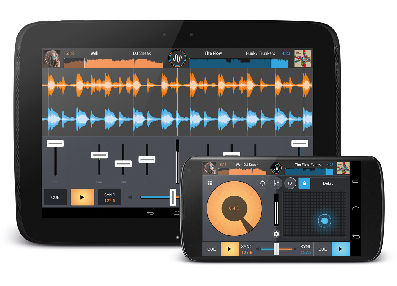 Mixvibes Cross DJ 2.0 for Android_Main