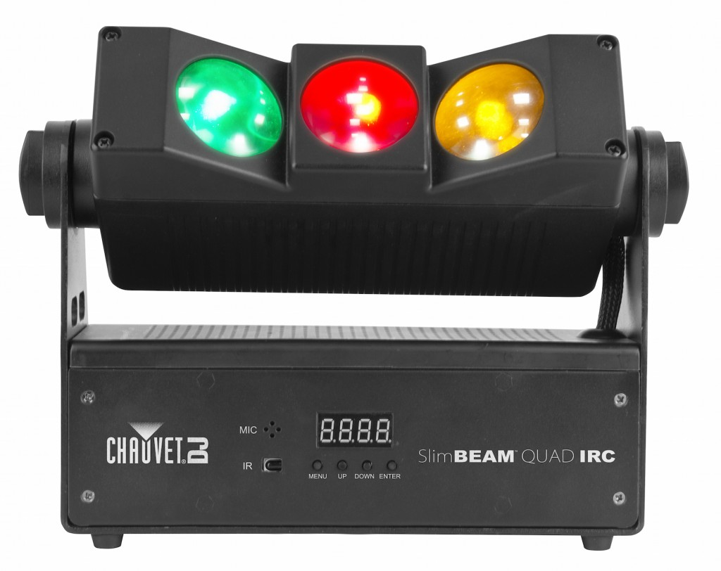New from Chauvet: SlimBEAM QUAD effect.