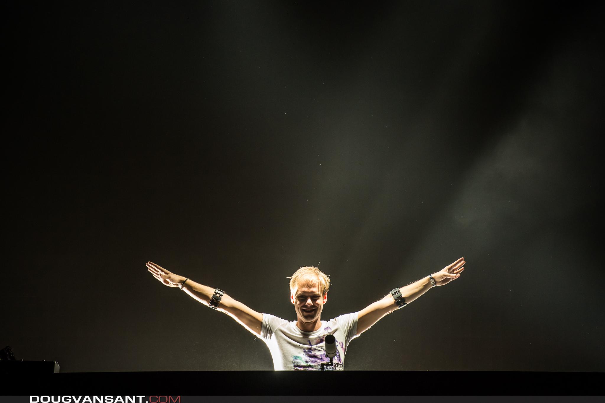 Armin van Buuren is set to take on Ultra with his ASOT stage this weekend. Photo: Doug Van Sant