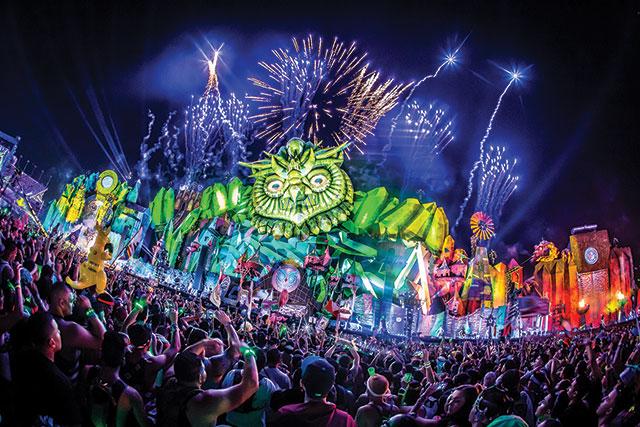 The Scene: EDC Vegas. ©Marc van der Aa/Insomniac