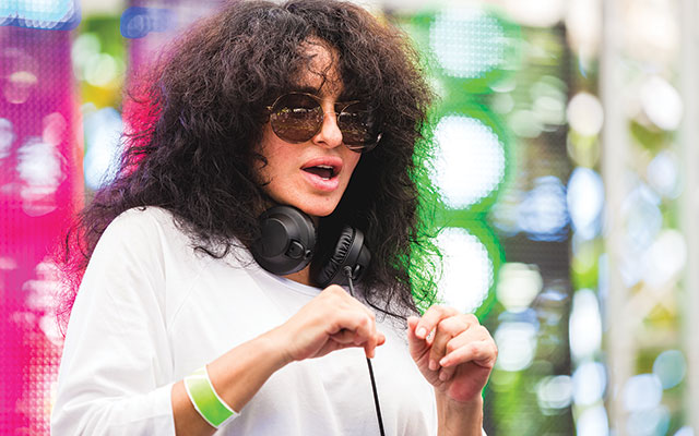 Mood Party: Nicole Moudaber in the mix. AGPfoto