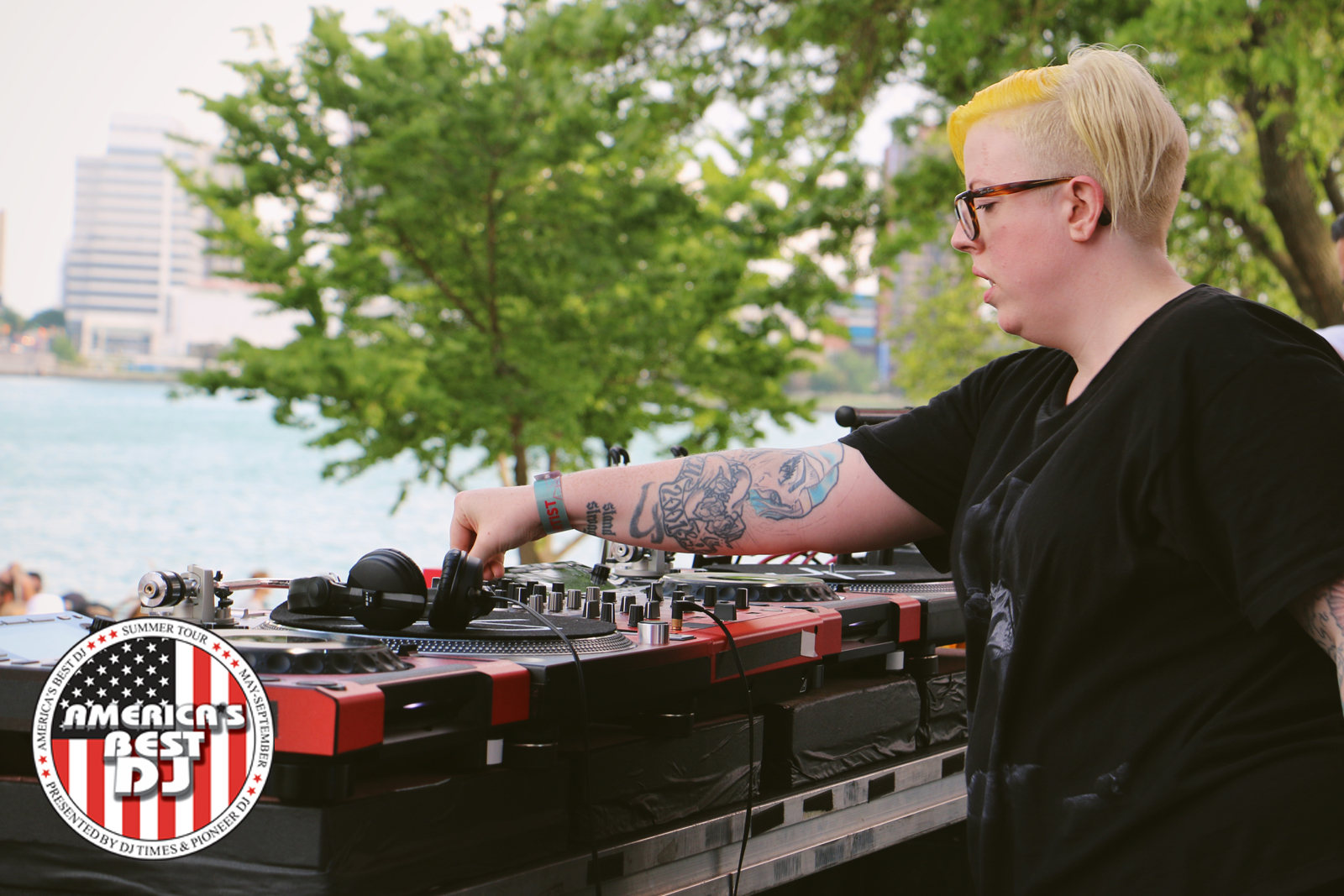 The Black Madonna's diverse selections proved popular to the RBMA crowd. | Photo: Adam Meyer
