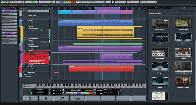 Cubase_Pro_85_Pro-Project_Window_2