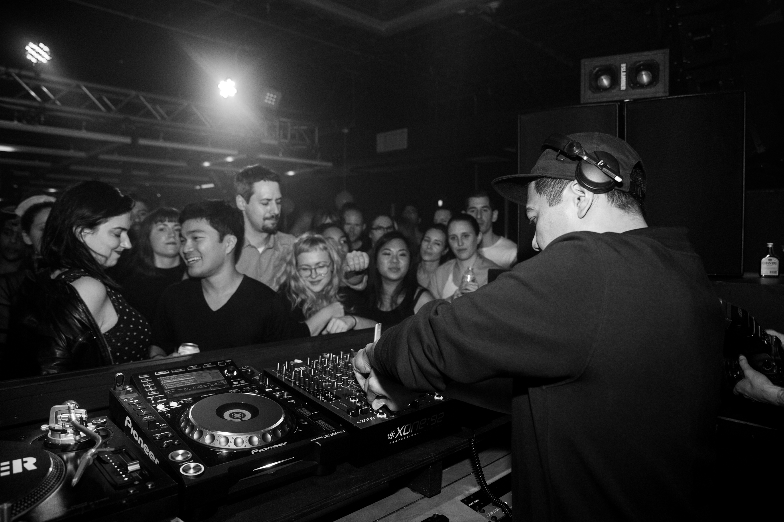 Mike Servito taking Analog BKNY on another type of acid journey.   Photo: Ross Figlerski