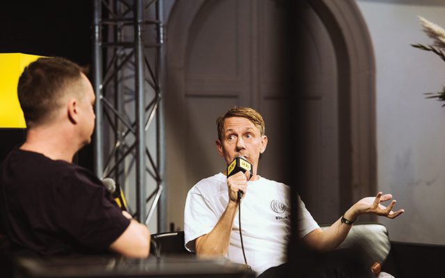 Talkin Loud: Keynoter Gilles Peterson. Tim Buiting