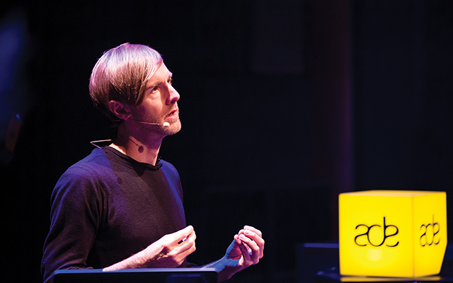 Keynoter: Richie Hawtin at A.D.E. Tim Buiting