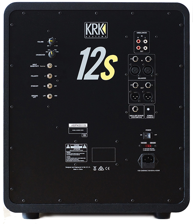 12s Sub: A monster studio monitor.