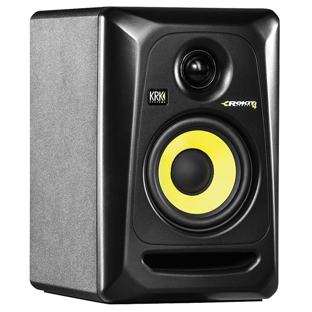 Studio Monitors: KRK Rokit 4 G3.