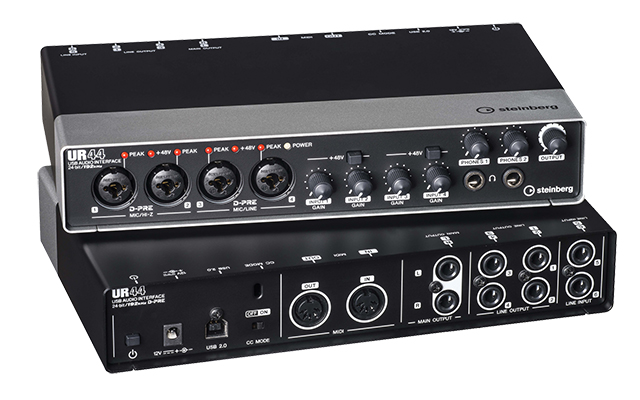 Audio Interface: Steinberg UR44.