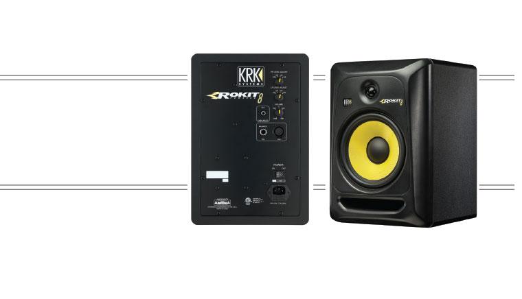 review krk rokit 8 g3 studio monitors. Black Bedroom Furniture Sets. Home Design Ideas
