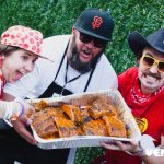 The dirtybird BBQ lived up to its name with no shortage of food.
