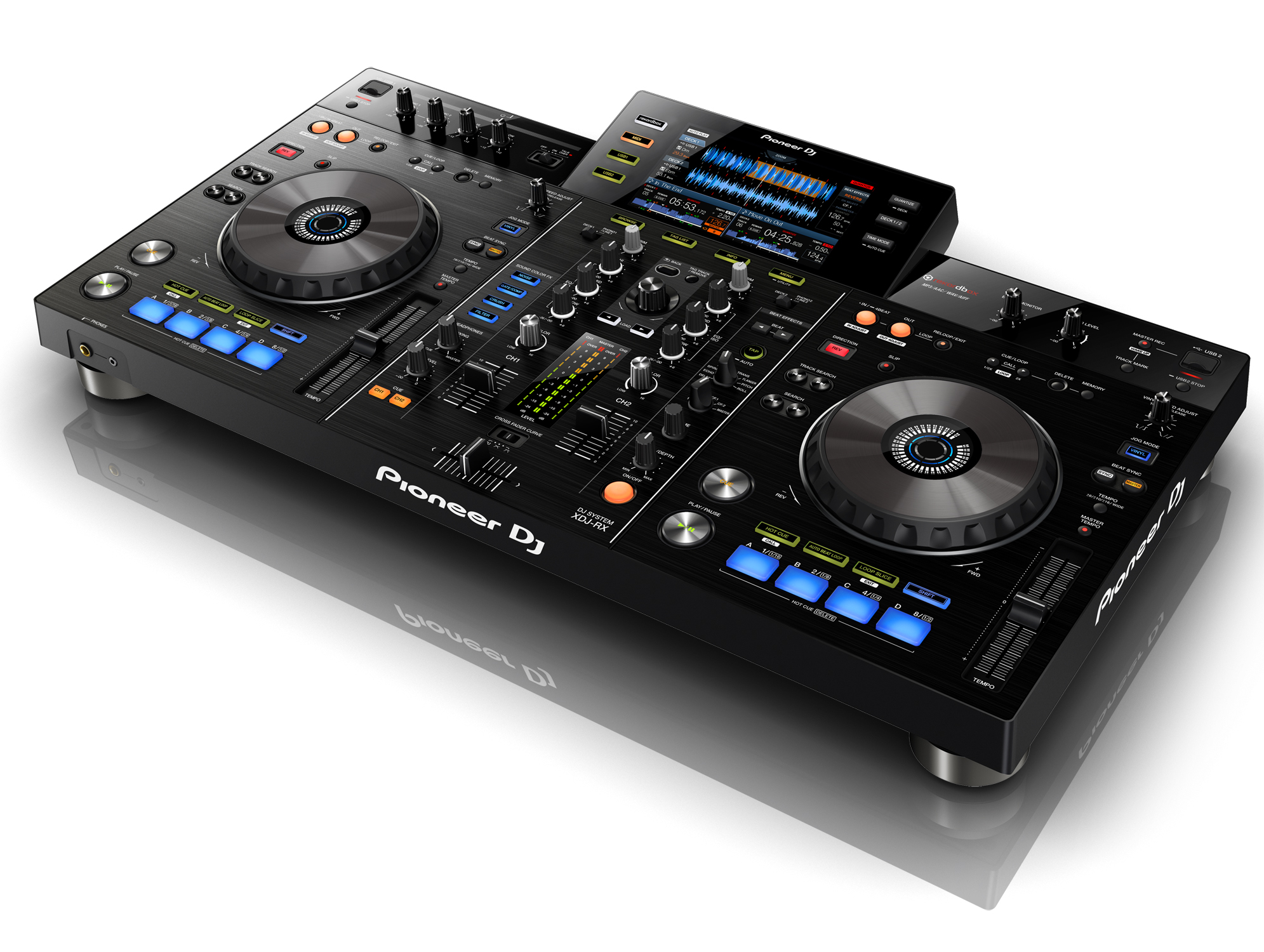 pioneer dj launches xdj rx all in one system. Black Bedroom Furniture Sets. Home Design Ideas