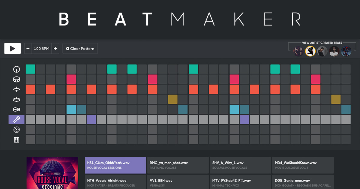 Craft Amp Share Your Best Beats With Splice Beat Maker