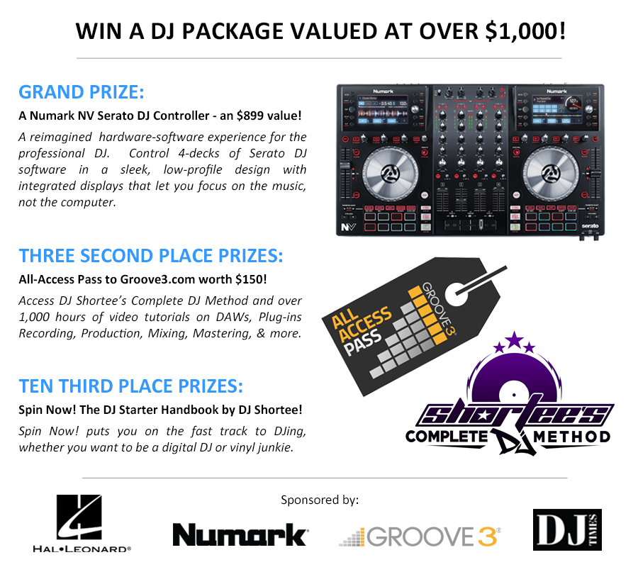 dj giveaway win a numark nv controller more from groove3 dj 4548
