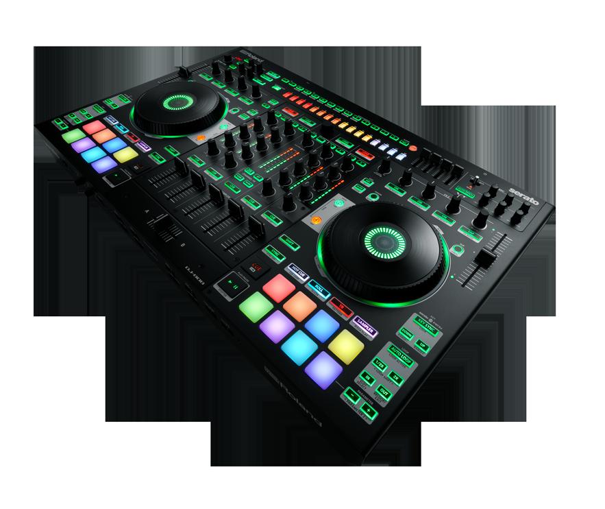 roland serato announce drum machine equipped dj 808 controller. Black Bedroom Furniture Sets. Home Design Ideas